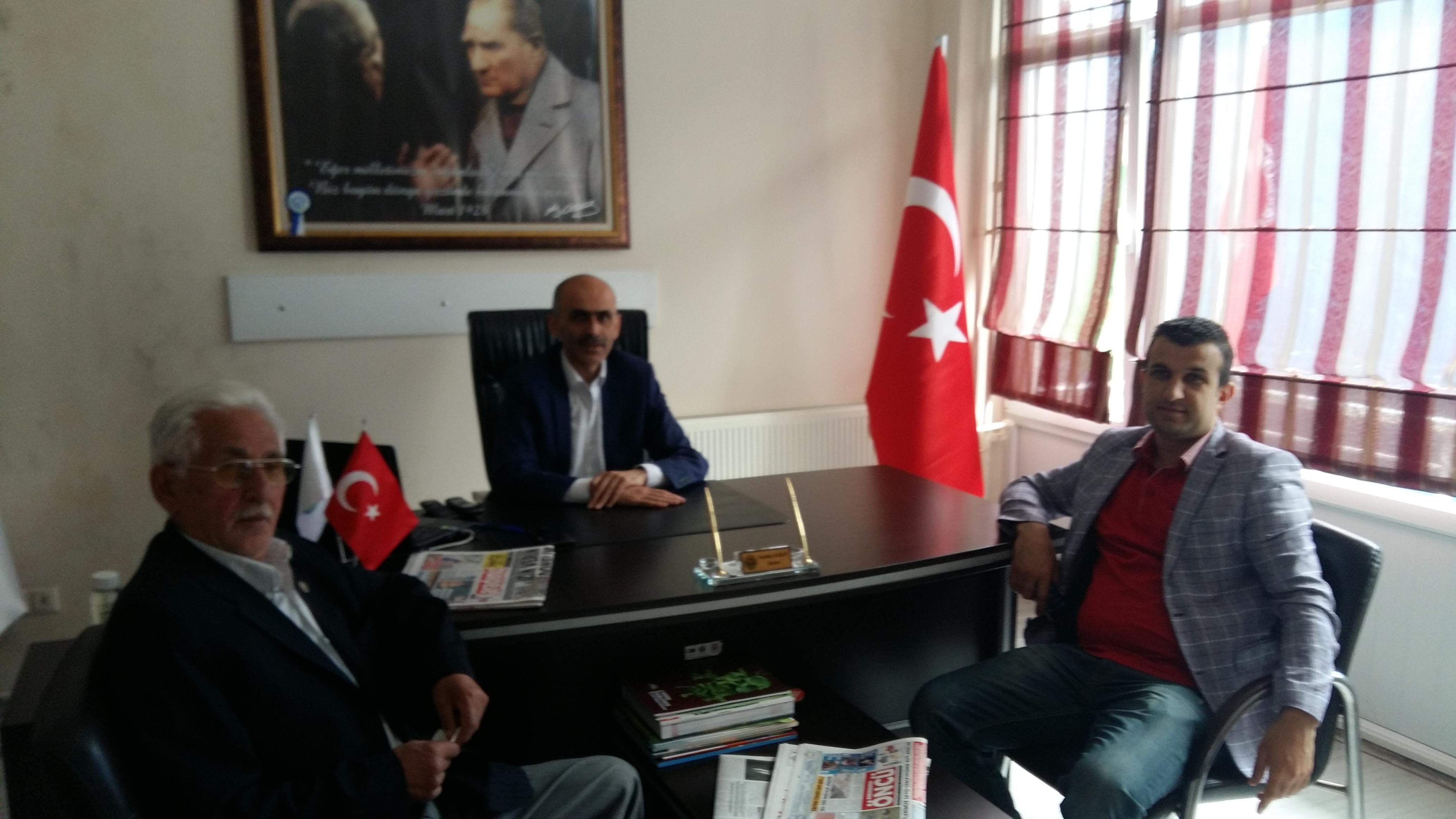 Kozluk Ziraat Odası Başkanı AHMET BOZKURT beyden Odamıza ziyaret..